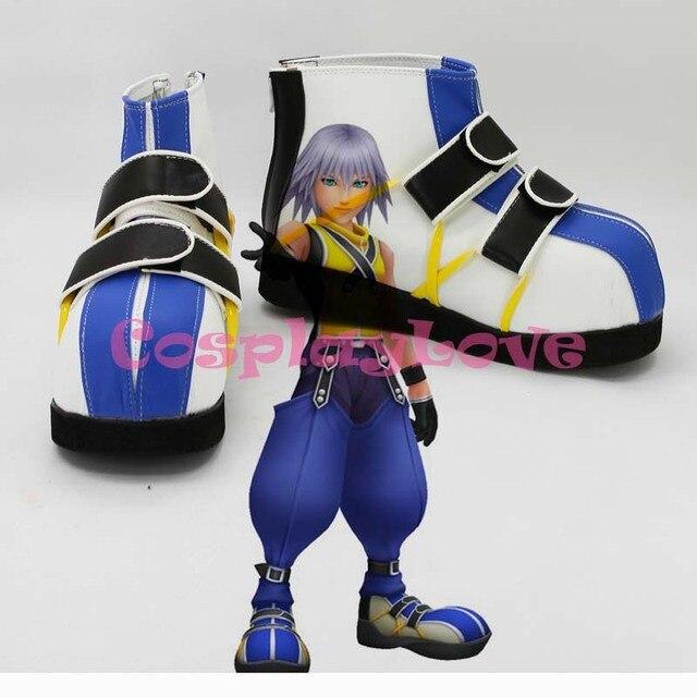 Custom Made Japanese Anime Kingdom Hearts Riku Cosplay Shoes Boots For  Christmas Halloween CosplayLove