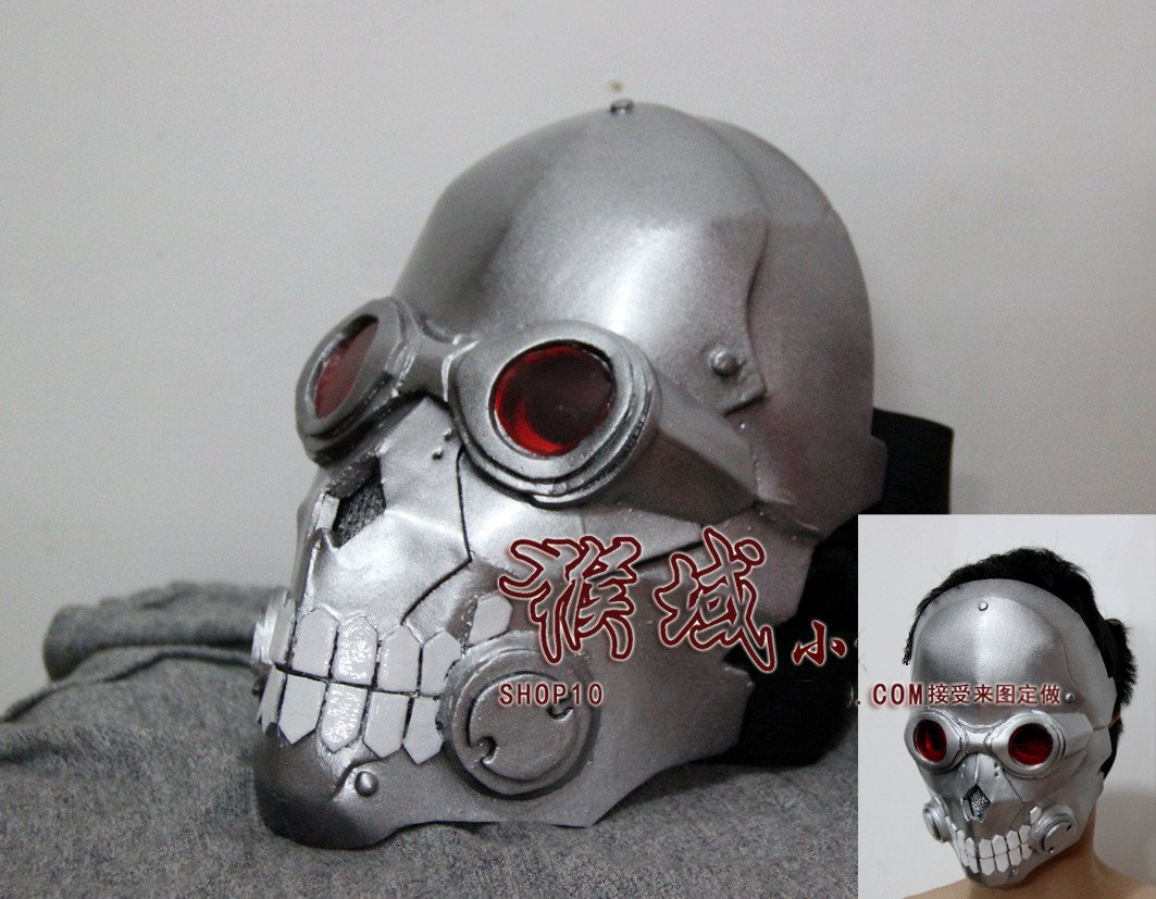 Sword Art Online 2 Phantom Bullet Death Gun Mask Cosplay Props Helmet Halloween Helmet