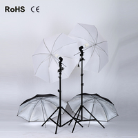 Мягкий зонтик 2*2 м осветительная стойка + 2 * E27 Одиночная лампа horlder розетка + 2*135 Вт освещение для фотосъемок фотография зонтик Бесплатная дос