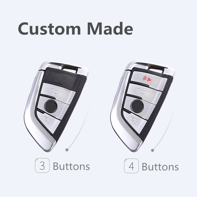 Image 2 - Soft TPU Remote Smart Key Cover Case Shell For BMW X1 X5 X6 530i 535i 540i 550i 740e 740i 750i 750Li GT xDrive 2014 2015 2016-in Key Case for Car from Automobiles & Motorcycles
