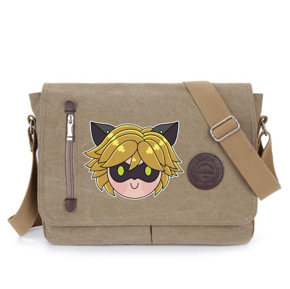 Anime Miraculous Ladybug Cute Ladybug Printing Messenger Bags School  Crossbody Bag men Women Handbags Shoulder Bag on Aliexpress.com  8b2af77dd023d