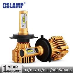 Oslamp H4 H7 H11 9005 9006 H13 H1 SMD CREE Chips 70W Car LED Headlight Bulbs 7000LM 6500K 12v 24v Led Auto Headlamp Headlights