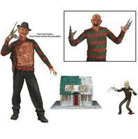 NECA a Nightmare on Elm Street 3 Freddy Krueger của Freddy Những Cơn Ác Mộng Hình Bộ Sưu Tập Đồ Chơi 20 cm
