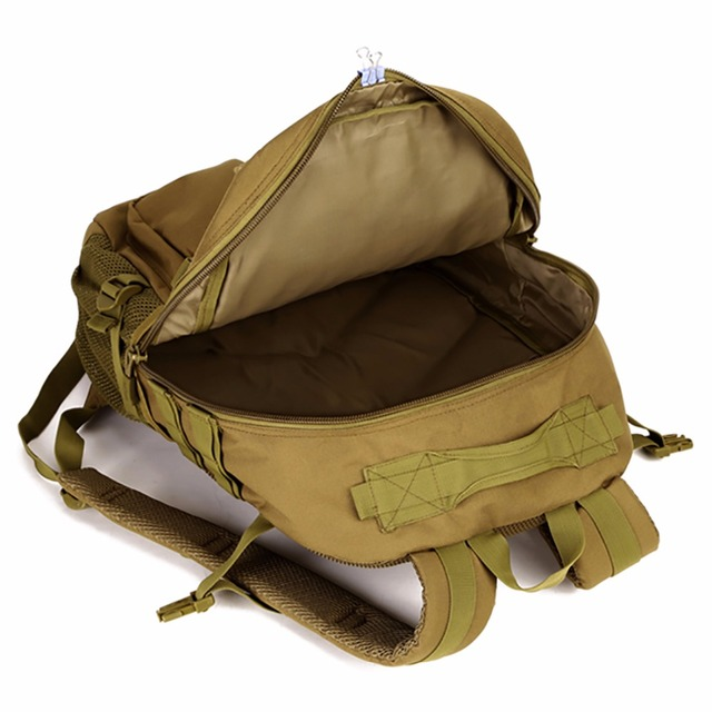 40L Waterproof Molle Backpacks Military 3P Tactics Rackpack Assault Nylon Travel Rucksack Bag for Men Women Rucksack Bag 5