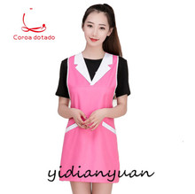 Apron Korean version of fashion beauty salon manicurist kitchen supermarket waiter mother and baby shop work clothes