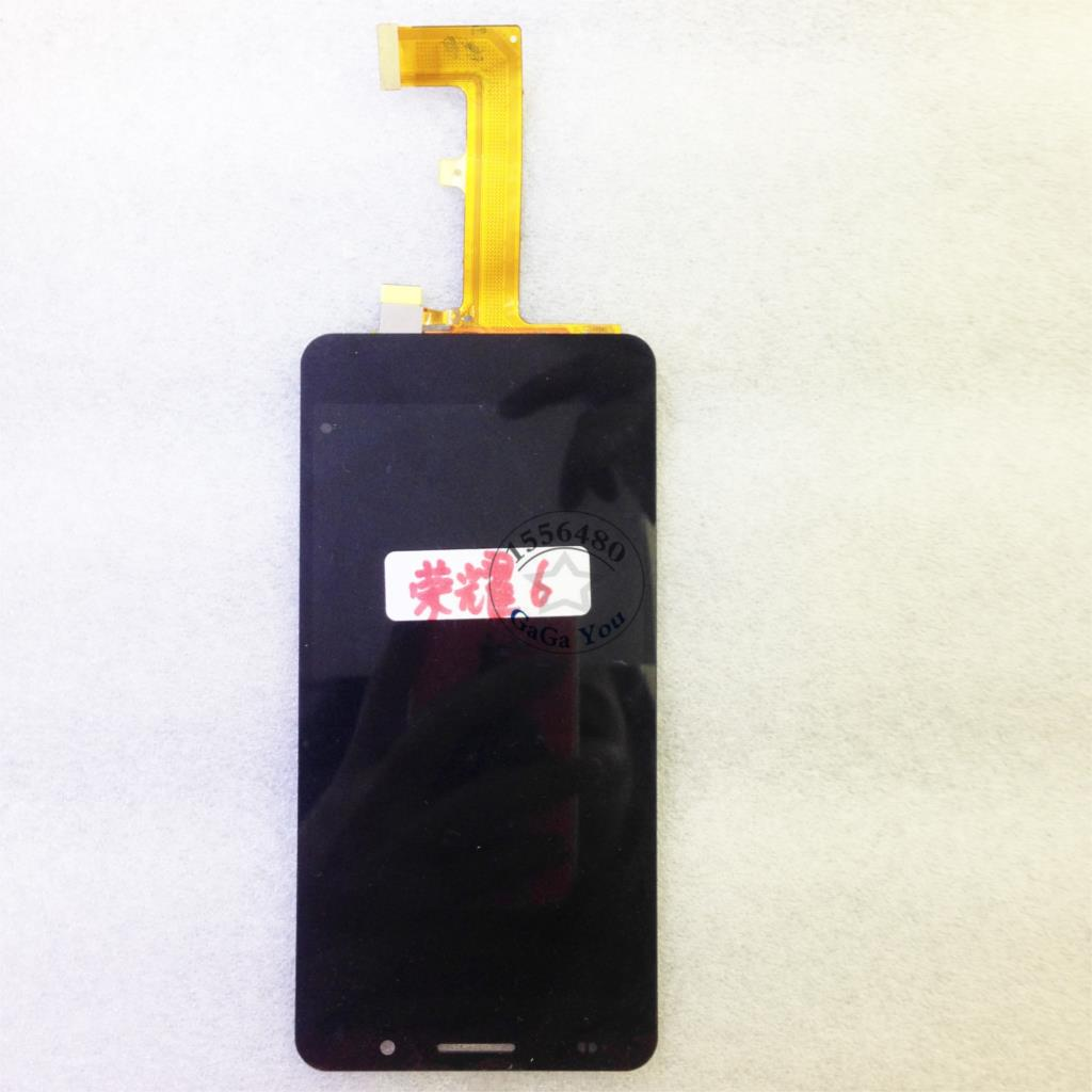 ФОТО Black/White LCD Display Touch Screen Digitizer Assembly Replacement Repair Parts  for Huawei Honor 6