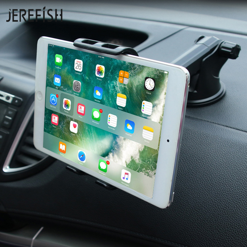 Universal Tab Car Holder Tablet Windshield Stand Sticky Mount Support Holders 360 Rotation with 5-10 inch Holder for Tablet стоимость