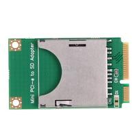 Practical Mini PCI E To SD Card Adapter Laptop Computer External Drive USB 2 0 SD