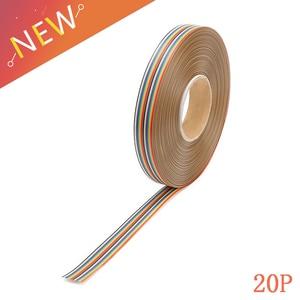 1M 1.27mm 20P Rainbow Flat Lin
