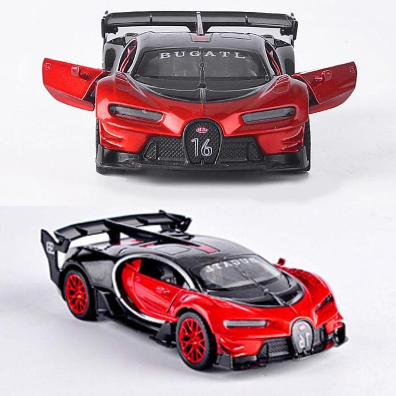 14.5CM 1:32 Scale Metal Alloy Bugatti Veyron GT Auto Car Model Auto Car Model Pull back Model Diecast Vehicles Toys F Children