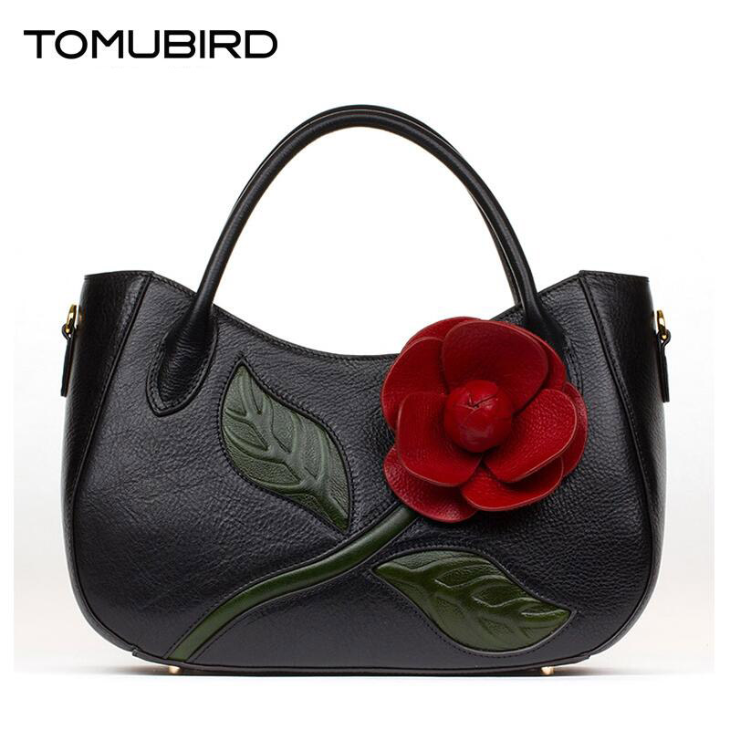 Famous brand top quality Cow Leather women bag Three-dimensional package hand bag China Wind Shoulder Messenger Bag famous brand top quality cow leather women bag women bag handbag 2018 new embroidery hand bag shoulder messenger bag