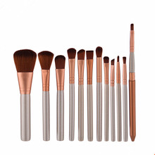 12pcs/set Professional makeup brushes make up brush set for beauty blush contour foundation cosmetics without box
