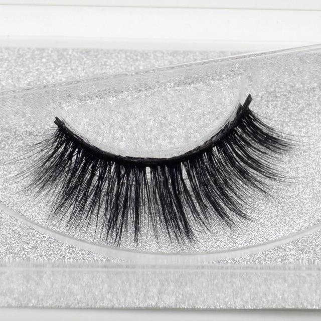 58fe430c074 Eyelashes Hand Made False Eyelashes Full Stripe False Lashes Long Mink  Lashes Beauty Eye Lashes Makeup Maquiagem JESSICA