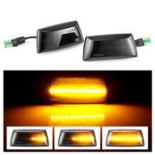 2 Chiếc Năng Động Đèn LED Bên Cột Mốc LED Tín Hiệu Tuần Tự Blinker Cho Opel Insignia Astra H Zafira B Corsa D dành Cho Xe Chevrolet Cruze