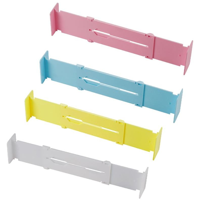 Plastic Retractable Adjustable DIY Shelving Shelves Drawer Dividers Organisers