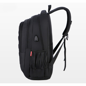 Image 2 - Mens USB Charge Waterproof Laptop Backpacks Large Capacity Male Leisure Travel Bags Student School Bookbag Computer New 2020 Big
