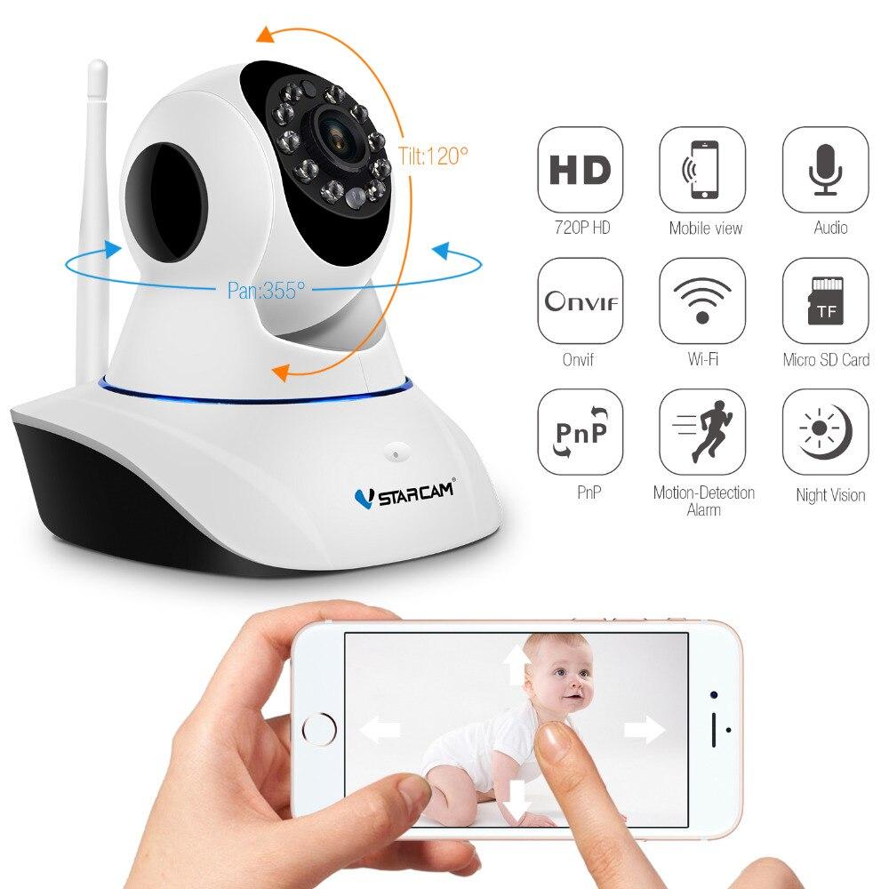 Vstarcam 1080P IP Kamera CS25 Auto Tracking Wifi Überwachung Sicherheit Kamera IR Nachtsicht PTZ App Mobile Ansicht Audio sprechen