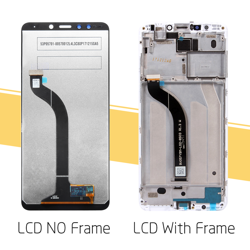 """Image 2 - Original 5.7"""" for Xiaomi Redmi 5 LCD Display Touch Screen with Frame Digitizer Assembly for Xiaomi Redmi 5 Display Replace PartsMobile Phone LCD Screens   -"""