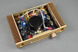 Voice king Hood 1969 glod zapieczętowana najdoskonalsza wersja wzmacniacza mocy HD1969 klasy A 18W + 18W