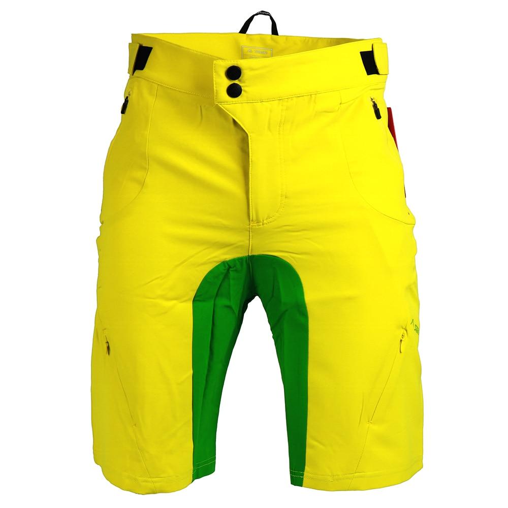 SAENSHING Downhill Bike Cycling Shorts Men 2018 New Bicycle Mtb Shorts Breathable Short Ciclismo Sport Culotte Ciclismo Hombre