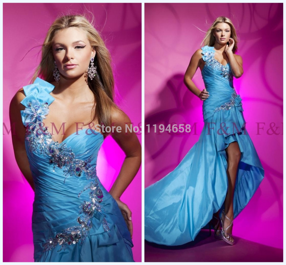 Latest Design Style Discount Elegant Crystals Beading Blue One ...
