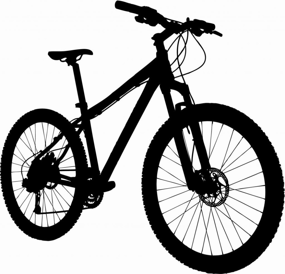 Line Drawing Bicycle : Mountain bike line drawing imgkid the image