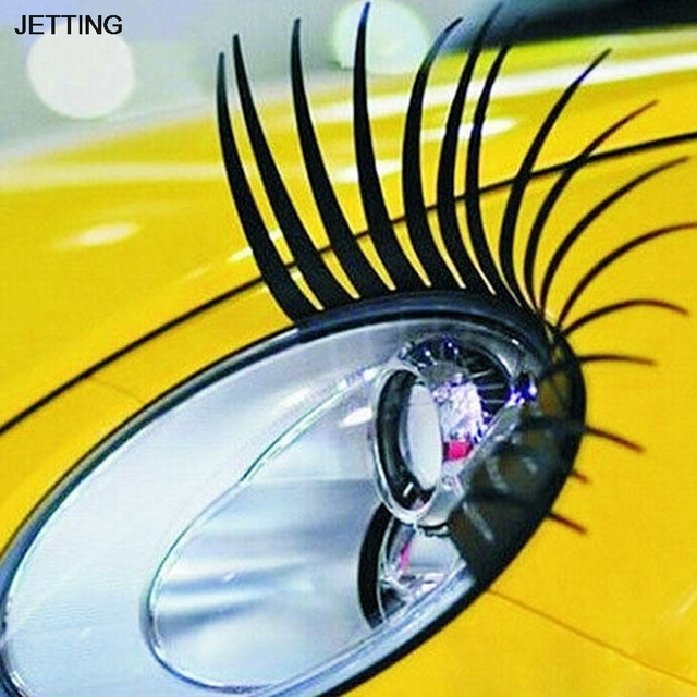 Aliexpress Buy Jetting 2pcs 1 Pair Auto 3d Eyelash 3d