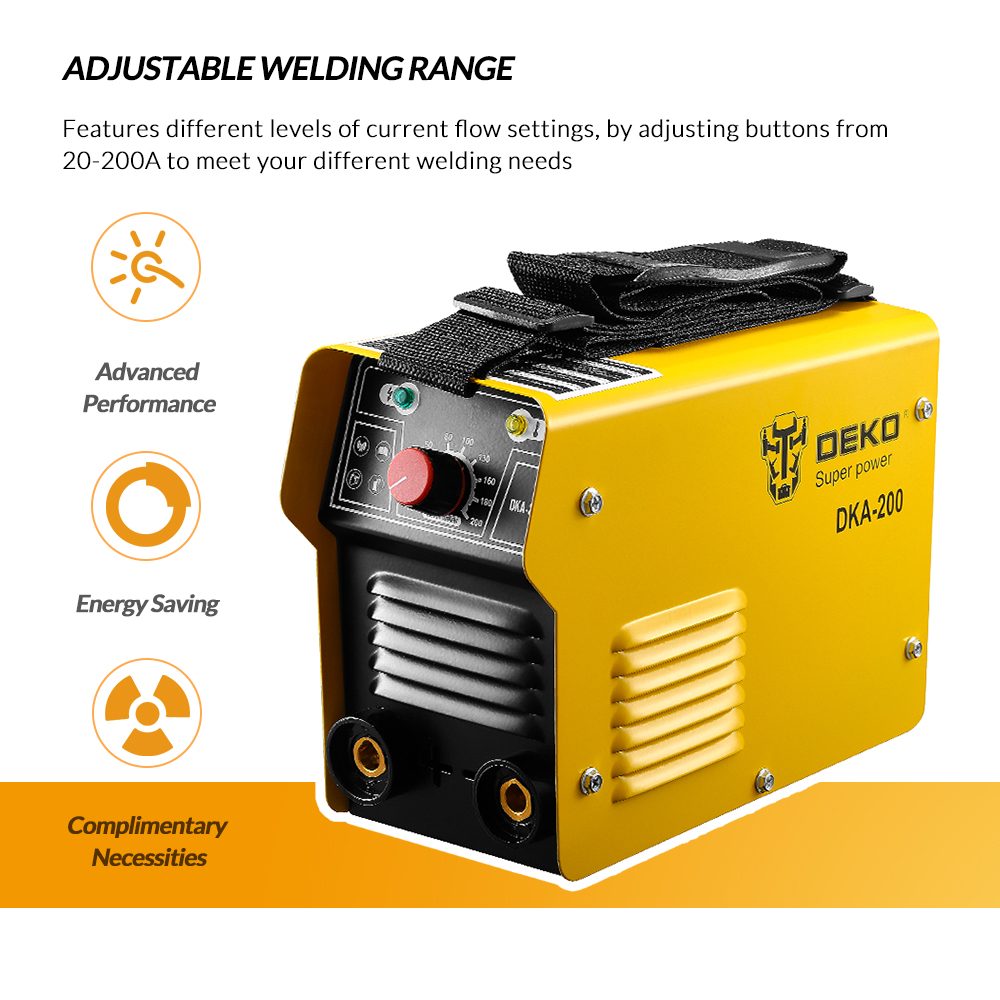 Dekopro 220v Inverter Ac Arc Welding Machine Mma Welder For Diagram Homemade Soldering And Electric Working W