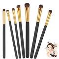 7Pcs/set Pincel maquillaje profesional Makeup Brushes Horse Hair Eyeshadow Cosmetic Foundation Makeup Brushes Set