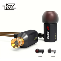 KZ ED9 Heavy Bass Earbuds Super Bowl Tuning Nozzles Earphone In Ear Monitors HiFi Earbud With