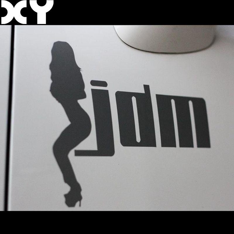 SEXY GIRL JDM HELLAFLUSH Vinyl Car Funny Stickers Car Truck Vinyl - Vinyl stickers for motorcyclesaliexpresscombuy hellaflush car stickers vinyl waterproof