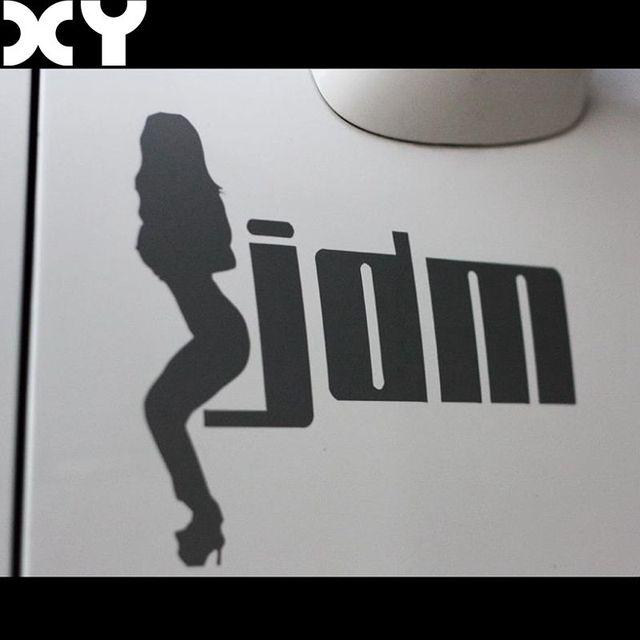 Us 177 38 Offsexy Mädchen Jdm Hellaflush Vinylauto Aufkleber Lustige Aufkleberauto Lkw Vinylfenster Aufkleber Aufkleber In Sexy Mädchen Jdm