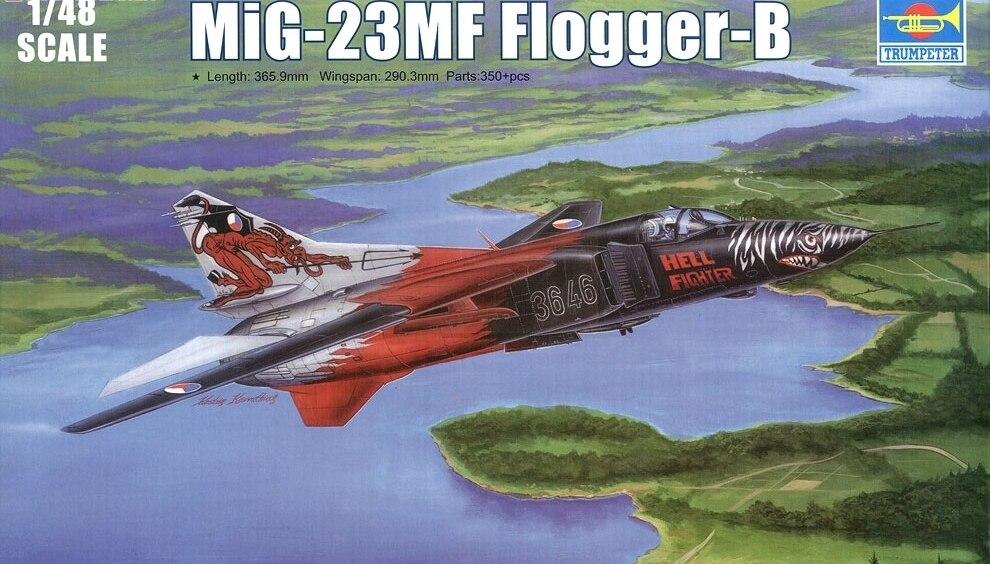 Trumpet 02854 1:48 Soviet Union MIG -23MF