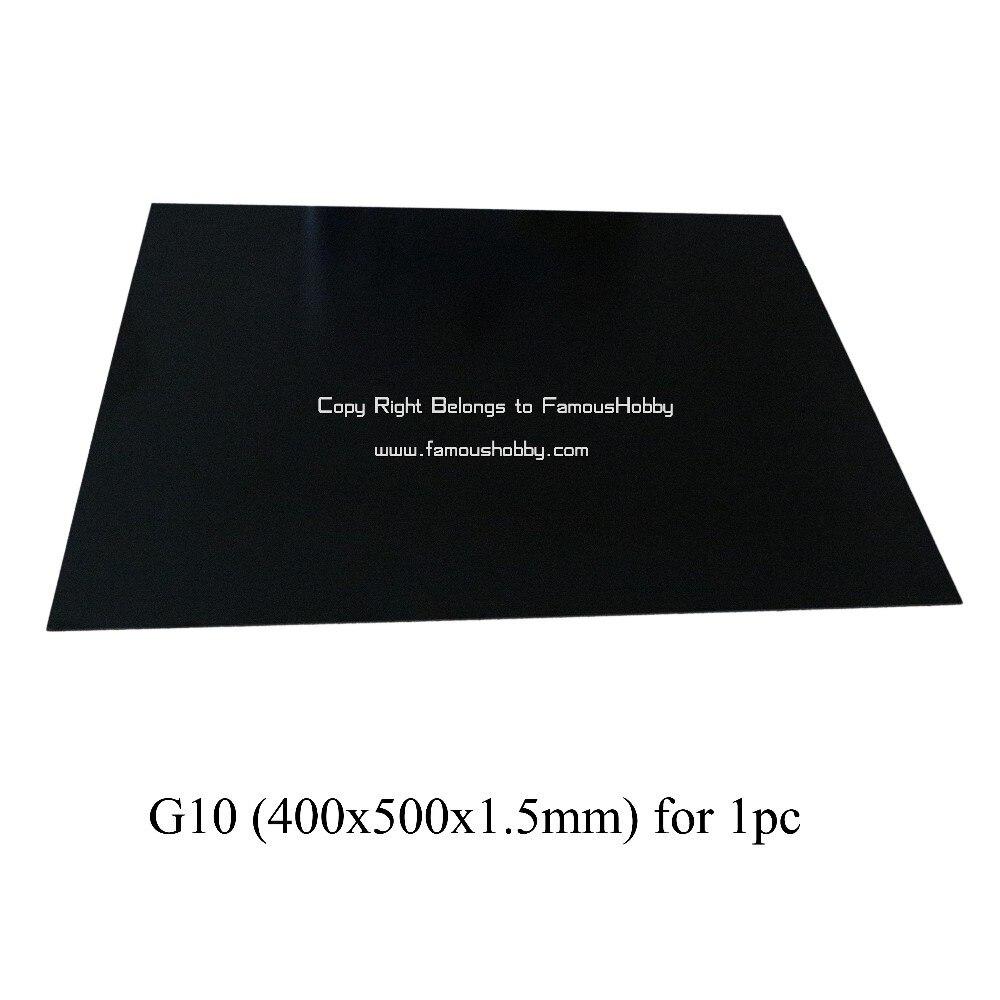 Famoushobby FGF001 1 шт. G10 400X500 1,5 мм Толщина Стекло волокнистой плиты/Панель/лист/доска для мультикоптера