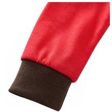 ABWE/Лидер продаж; Новинка; Рождественская одежда красного цвета с Санта-Клаусом для маленьких девочек и мальчиков; олень северный олень; домашняя одежда для сна; ночное белье; Пижама
