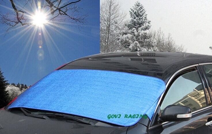 Vast Aluminiumfolie 150*70 Cm Auto Zonnescherm Car Window Zonnescherm Auto Gordijn Uv Beschermen Auto Film Auto Gordijn Cortina Para Automoveis