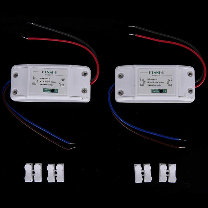 220V 1 pandilla TUYA APP Wifi luz interruptor remoto inalámbrico de domótica inteligente casa lámparas módulo de relé de Control para Alexa