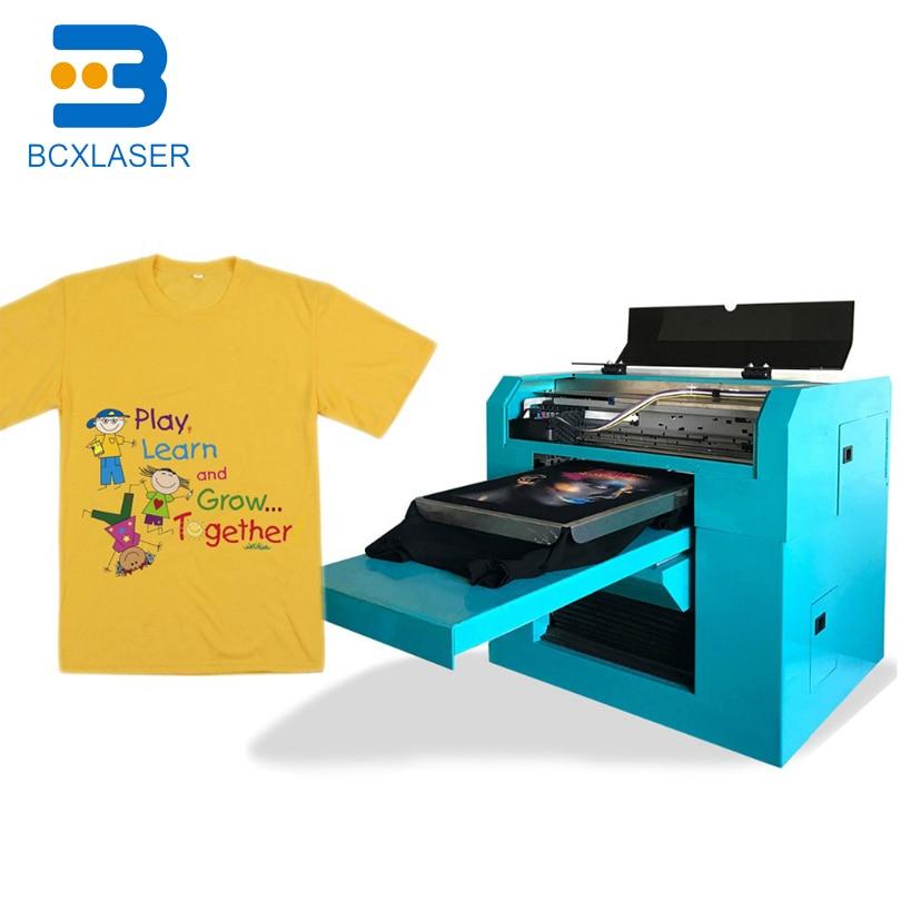 DTG одежды ткань машина для печати на ткани цифровой футболка принтер