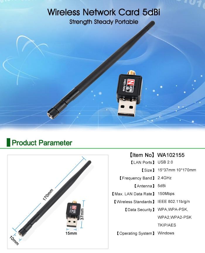 2pcs SMA Female WiFi Antenna 2dBi for Wireless LAN Router Dual Band@GYBLUS