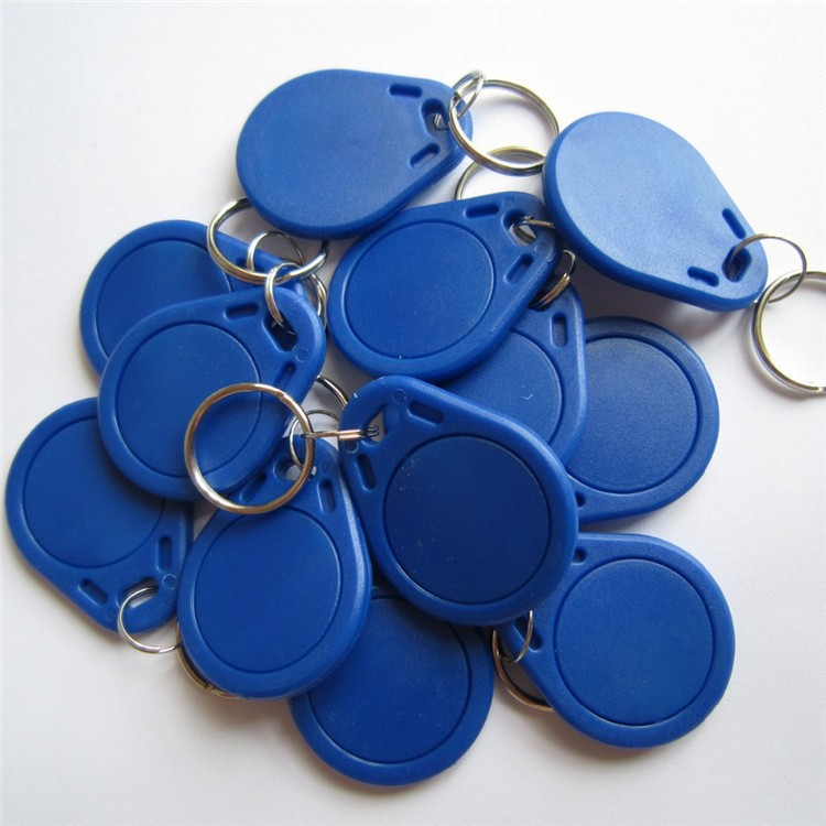 13.56Mhz NFC Tag MF S50 1k F08 IC Keyfobs ISO14443A Writeable NFC Card Use ABS Material