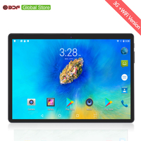 10 inch 3G Phone Call Tablets Android 6.0 Quad Core 4G+32G Tablet Pc Built in 3G Dual SIM Card laptop WiFi GPS Bluetooth FM tab