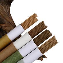 45 шт./кор. натуральный обратного ароматный Ладан палочка сандалового дерева китайский Ладан палочки Крытый полезно для здоровья сна 40 мин горения