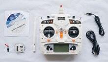 WALKERA Devo Devention Blanco 10 2.4 Ghz 10CH RC Transmisor de Radio Digital 2 KM Con Receptor RX1002