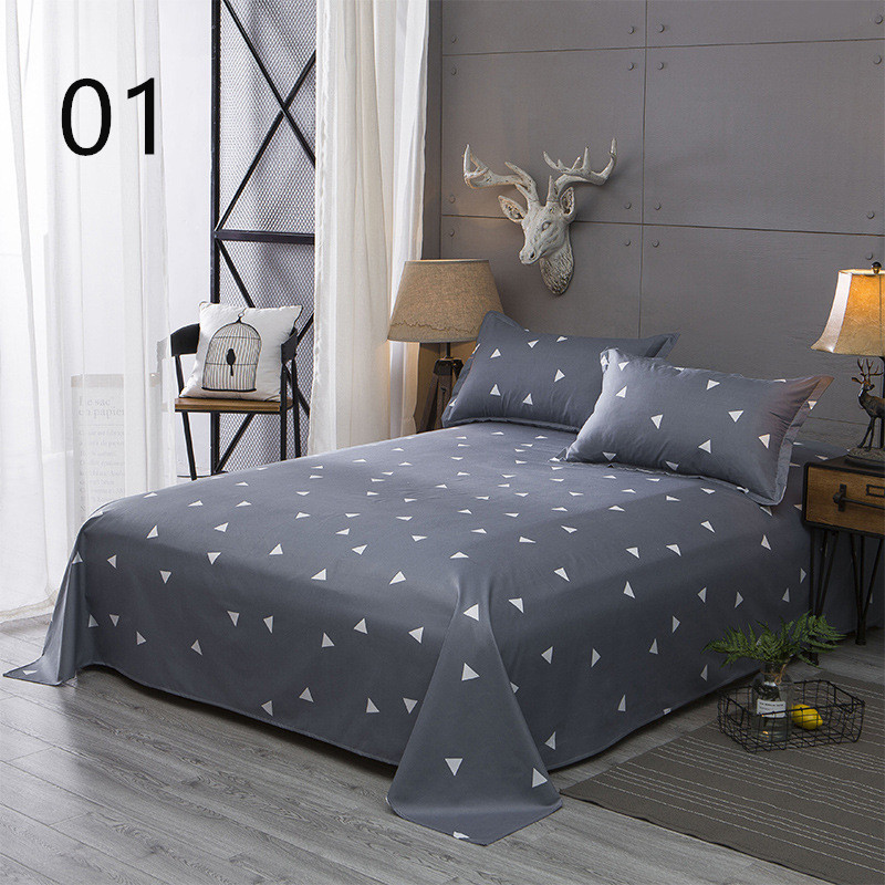 Single Piece Of Cotton Sheets, Double Cotton Quilt, Single Student Dormitory Bed