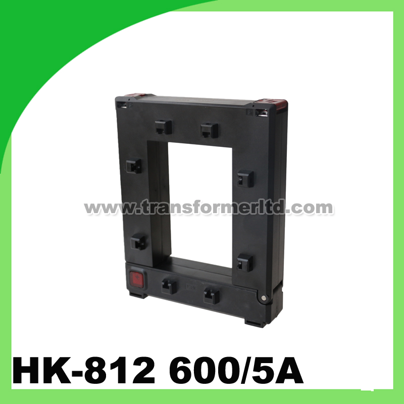 цена на Single phase ac current transformer 600/5a HK-812 split core CT