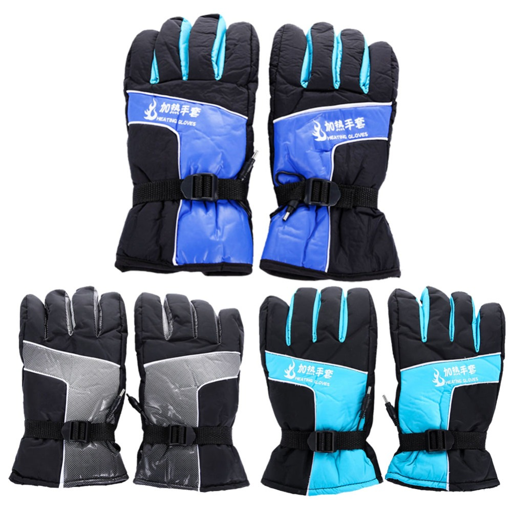 Heated motorcycle gloves new zealand - New Hot Sell 12v Usb Heated Moto Gloves Knight Protective Gear Biker Carbon