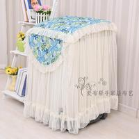 Beauty Drum washing machine cover Lace dustproof protector 55*60*80cm Waterproof sunproof Wedding home textile