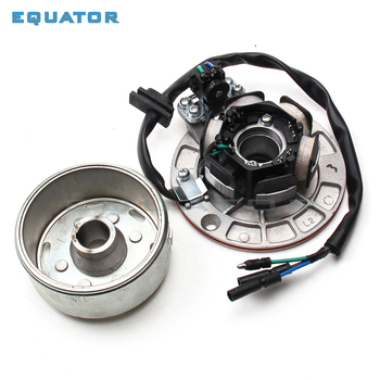 Kit de rotores y estátor de bobina de Magneto sin luz compatible con motores chinos YX 150cc 160cc, Pit Dirt Bike PitsterPro Stomp Thumpstar SDG GPX