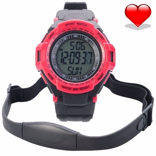 Heart-Rate-Monitor-Chest-Strap-Pedometer-Digital-Sports-Watch-with-LCD-Monitor-Exercise-Memory-Mode-Stopwatch1