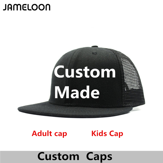 4bec20859061c Custom Snapback Hat Free High Quality 3D Embroidery Acrylic No Minimums  Free Logo Adult Men Women Kids Gifts Free Shipping